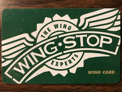 Wingstop Gift Card $45 Value. Free Shipping!
