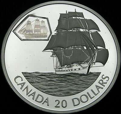 CANADA 20 Dollars 2001 Proof - Silver - The Marco Polo - 1613 ¤