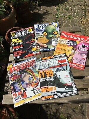 Collection of PlayStation Magazines x 5 inc. Official, Power & Pro