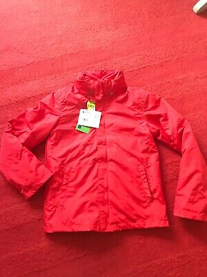 NEW Mountain Warehouse 3-in-1 Coat Age 9-10 Yrs BNWT Boys Girls Red Jacket Fleec