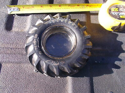 Vintage Gum Dipped Firestone Farm Tractor Tire Glass Ashtray Promotional