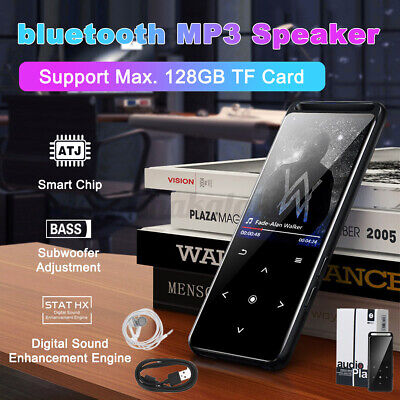 16GB MP3/MP4 Music Player Bluetooth Lossless Sound Portable FM Radio Voice 🔥 *