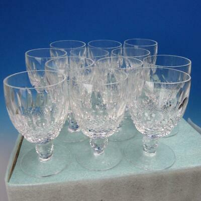 Waterford Crystal - Colleen Pattern - 12 Water Glasses - 5¼ inches