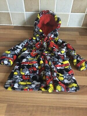 Disney Micky Mouse Baby Dressing Gown 3-6 Months