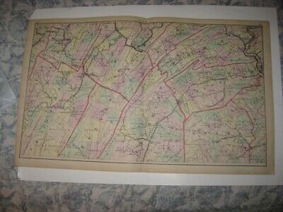 Antique Cumberland Adams Perry Fulton Franklin Bedford County Pennsylvania Map