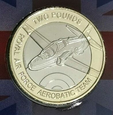 OFFICIAL RED ARROWS £2 Two Pound Coin BUNC ,JERSEY,,Low Mintage,Sealed