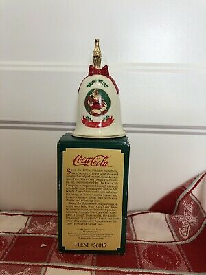 1990 Coca-Cola Christmas Bell by Willitts #36015
