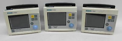 """SIEMENS SC 6002 ENG 5.71"""" Colour LCD Display Multi-Parameter Patient Monitor 3x"""
