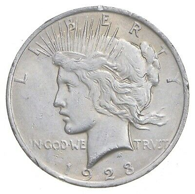 Early - 1923 - Peace Silver Dollar - 90% US Coin *121
