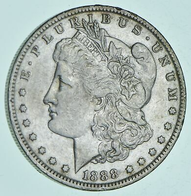 W@W Early 1888-O Morgan Silver Dollar - 90% US Coin - Nice Coin *225