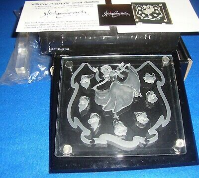 Arribas Brothers Disney Snow White and the Seven Dwarfs Crystal with Box +