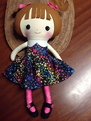 Handmade Cloth Doll, Rag / Soft Doll Ideal Gift For Young Children