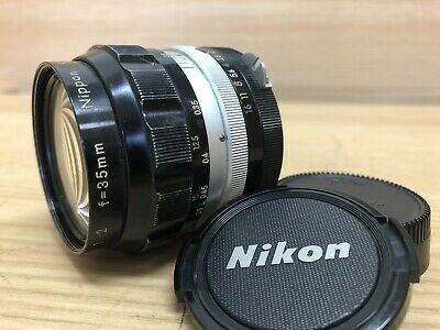 *Opt Near Mint* Nikon Auto Nikkor O 35mm f2 Non Ai MF Wide Angle Lens from Japan