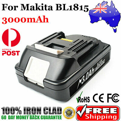 3.0Ah 18V Battery for Makita BL1815 BL1830 BL1860 LXT400 Lithium-Ion Cordless
