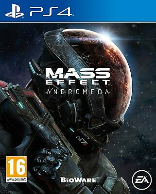 Mass Effect Andromeda (PS4) New & Sealed - UK PAL - In Stock Now - Region Free