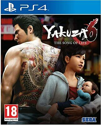 Yakuza 6 The Song of Life (PS4) New & Sealed - In Stock Now - UK PAL