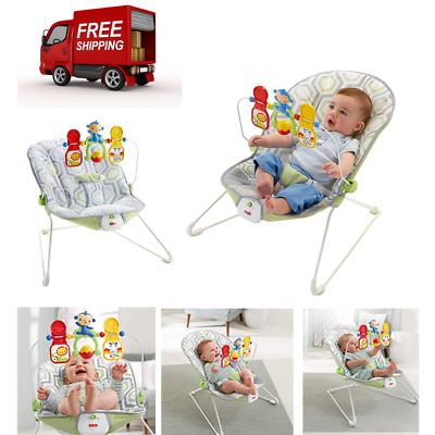 Infant Toddler Rocker Baby Swing Bouncer Portable Child Seat Safety Chair