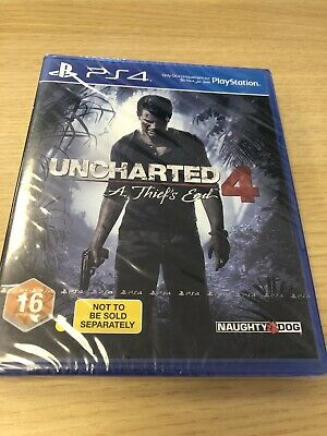 Uncharted 4: A Thief's End (PS4) New & Sealed - PAL - In Stock Now - Bundle