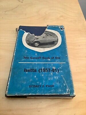 Cassell Book ( Manual ) Of The Isetta Bubblecar 3-Wheel Motocoupe 1957-1961