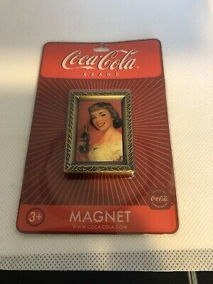 """Coca-Cola '1952 Lady with White Blouse"""" Magnets  LOT of 60 NOS"""