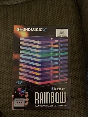 Soundlogic xt, Rainbow, Bluetooth, Wireless, LED Speaker