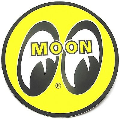 "5 ~ Mooneyes 1 1/2"" Decals Sticker Muscle Car 1950 's Look  Hot Rat Rod"