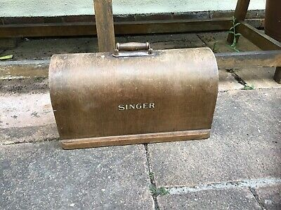 Original Bentwood Case For Vintage Singer Sewing Machine 99k