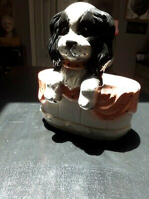 Cavalier King Charles Spaniel planter excellent condition