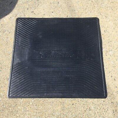 Genuine Cadillac Branded Trunk Reversible Mat Large Square DTS