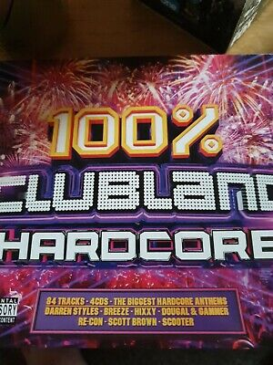 Universal Music TV Clubland 100% 90s Various Artists CD (2017, 4 Discs)