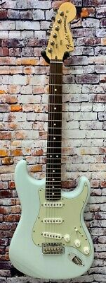 Fender American Special Stratocaster In Sonic Blue with Deluxe Bag - DEMO