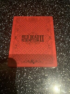 XBOX ONE PS4 Red Dead Redemption II 2 Steelbook ( NO GAME )