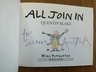 Quintine Blake Signed Book