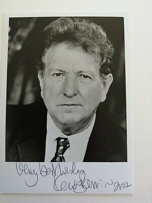 Actor Keith Barron Signed 7x5 Photo