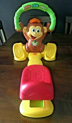 Vtech Monkey Moves Smart Seat Jungle Gym Baby Toddler Learning Toy RARE