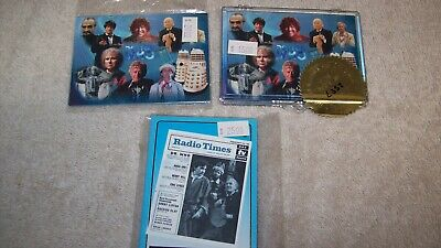 Doctor Who Series Preview Card Set Limited Edition Strictly Ink & Radio Times