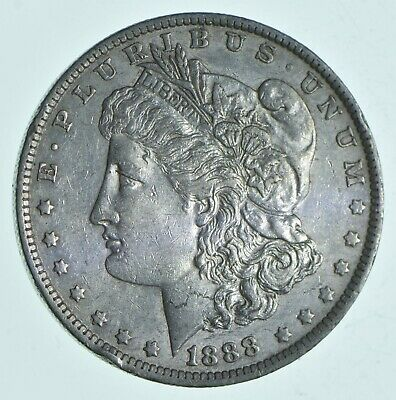 W@W Early 1888-O Morgan Silver Dollar - 90% US Coin - Nice Coin *327