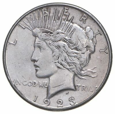 Early - 1923-S - Peace Silver Dollar - 90% US Coin *392