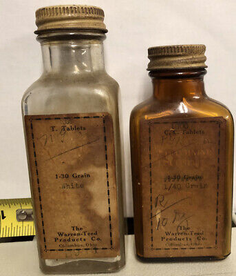 Vintage Medicine Bottles Columbus Ohio