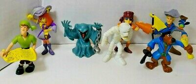 Scooby Doo Mini Figure Lot  Hanna Barbera
