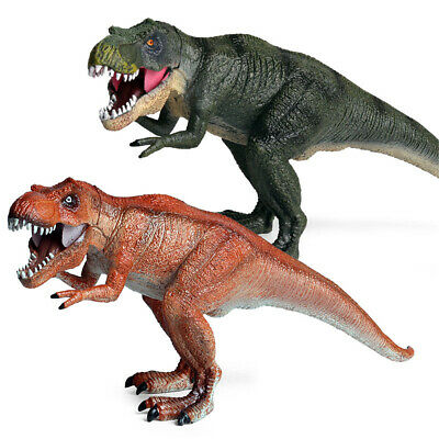 T-Rex Figure Dinosaur Tyrannosaurus Rex Model Animal Collector Kid Toy Xmas Gift