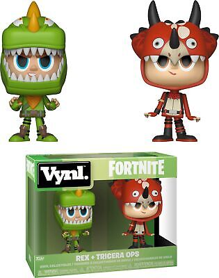 Funko VYNL: Fortnite - Rex and Tricera Ops