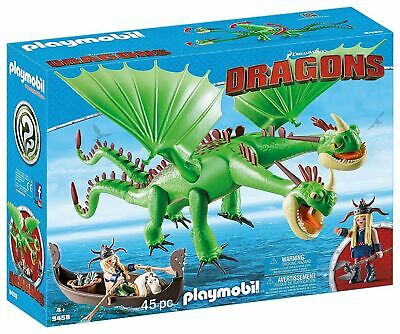 PLAYMOBIL How to Train Your Dragon Twins with Barf and Belch