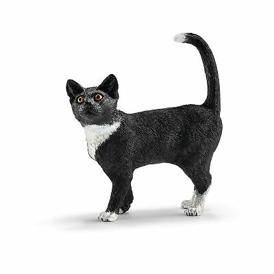 Schleich Cat Standing Toy Figure Standard Packaging