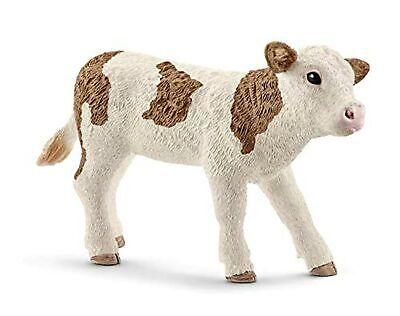 Schleich 13802 Simmental Calf Toy Figure
