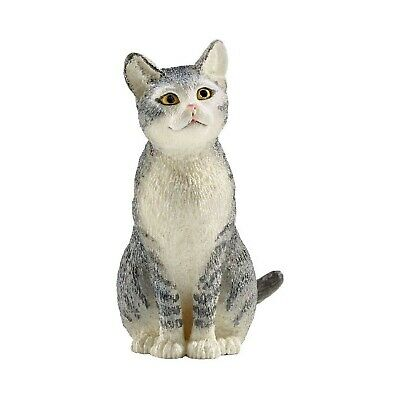 Schleich Cat Sitting Toy Figure