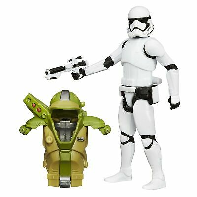 Star Wars The Force Awakens 3.75-Inch Figure Forest Mission Armor First Order...