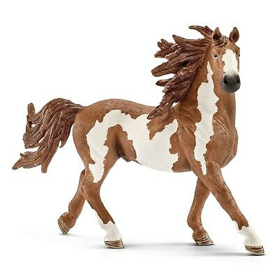 Schleich Pinto Stallion Toy Figure