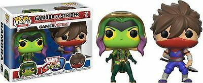 Funko 22776 Marvelvcapcom 2pk - Gamora Vs Strider