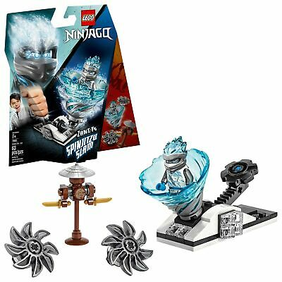 LEGO NINJAGO Spinjitzu Slam - Zane 70683 Building Kit (63 Piece)